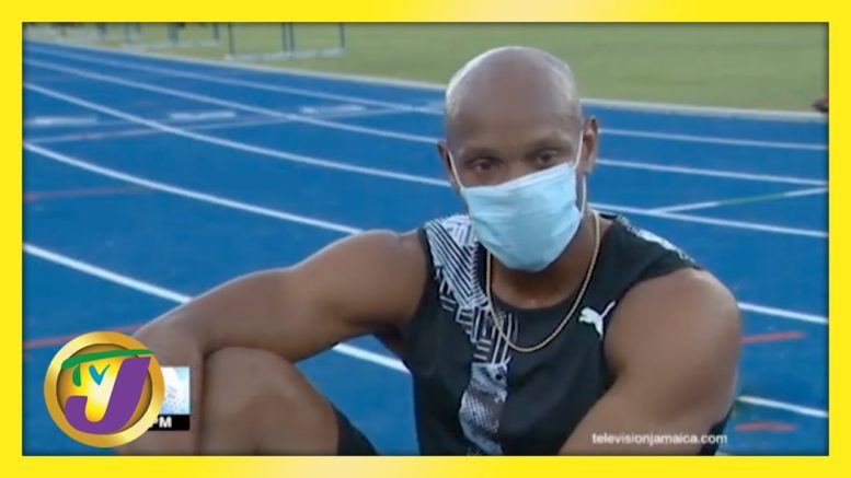 Thompson Herah & Asafa Powell Head Jamaica's Word Relays Teams - April 15 2021 1