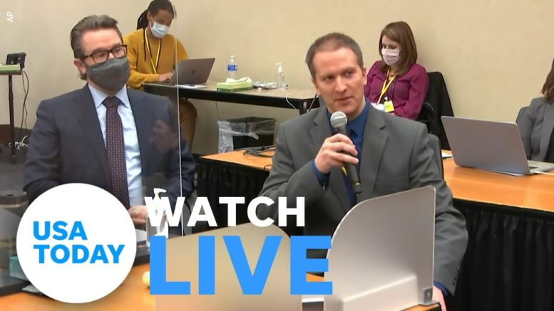 Closing arguments set for Monday in Derek Chauvin's trial (LIVE)   USA TODAY 1