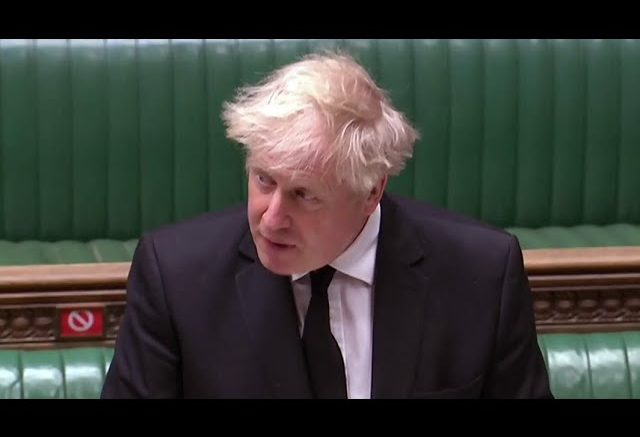 Boris Johnson pays tribute to Prince Philip in Parliament 1