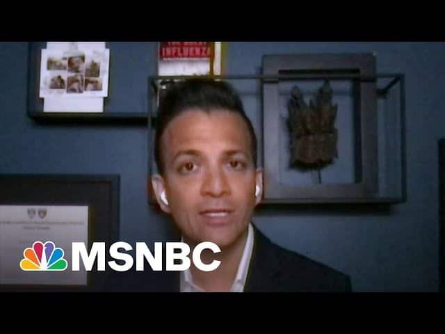 Dr. Gupta: Embarrassing To See Rep. Jordan's Behavior Toward Dr. Fauci | Morning Joe | MSNBC 5