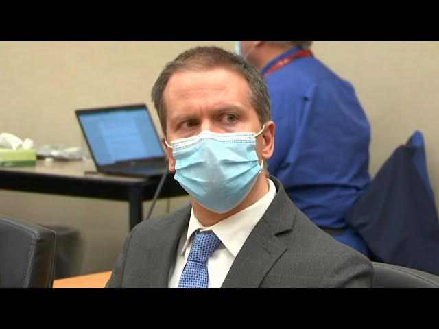 Derek Chauvin found guilty in death of George Floyd | Watch the verdict be delivered 6