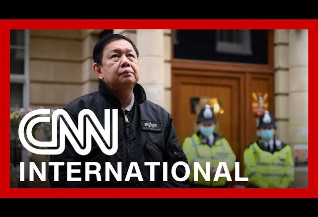 Ambassador locked out of embassy in London 1