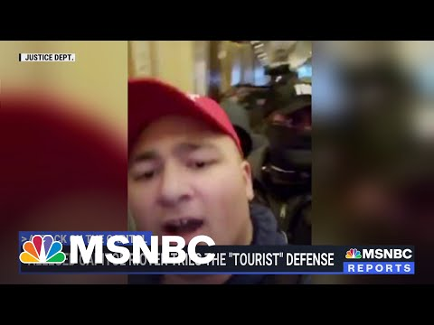 Alleged Capitol Rioter Tries The 'Tourist' Defense 1