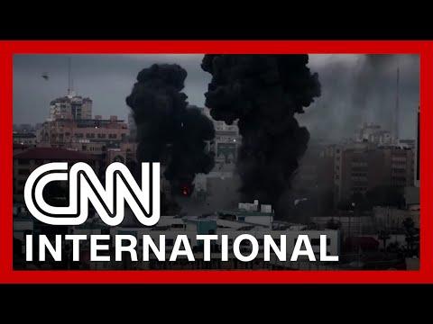 Videos show Israeli airstrikes on Gaza 1