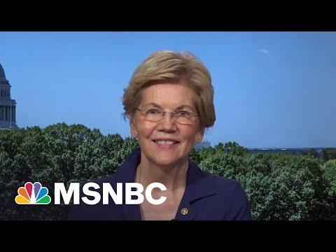 Sen. Warren Reacts To GOP Infrastructure Counteroffer | MSNBC 1