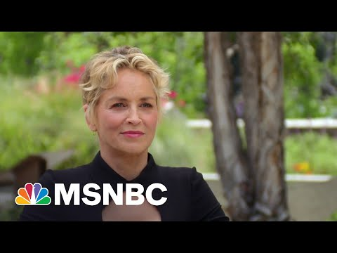 See Sharon Stone Reveal Why Introverts Make Great Actors I MSNBC Highlights 1