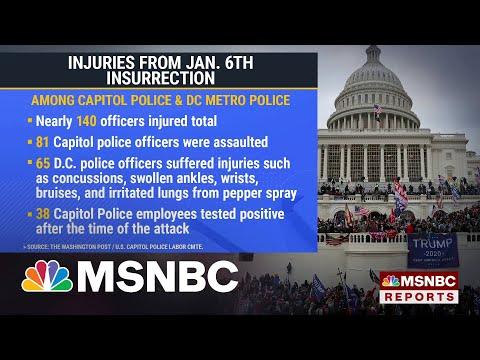 DOJ: 440 Have Been Arrested In Capitol Riot Investigation 1
