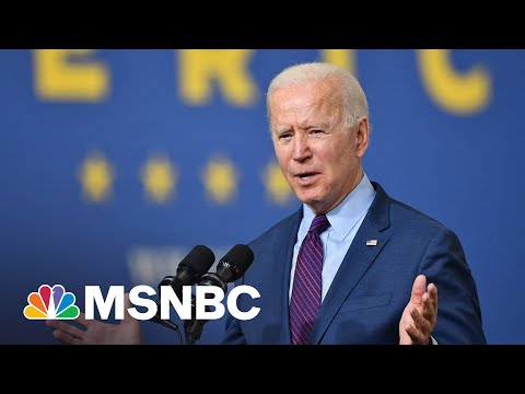 Biden Promotes Production Of Electric Vehicles | MSNBC 1
