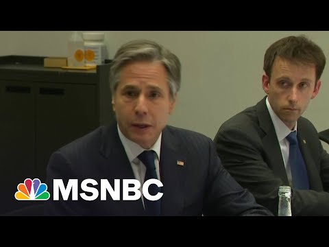Sec. Blinken Meeting With Foreign Minister Is 'Practical Diplomacy,' 1