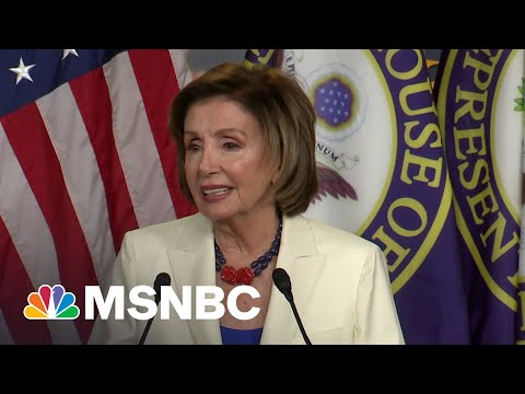 Pelosi Criticizes House Members Who Choose Not To Be Vaccinated | MSNBC 7