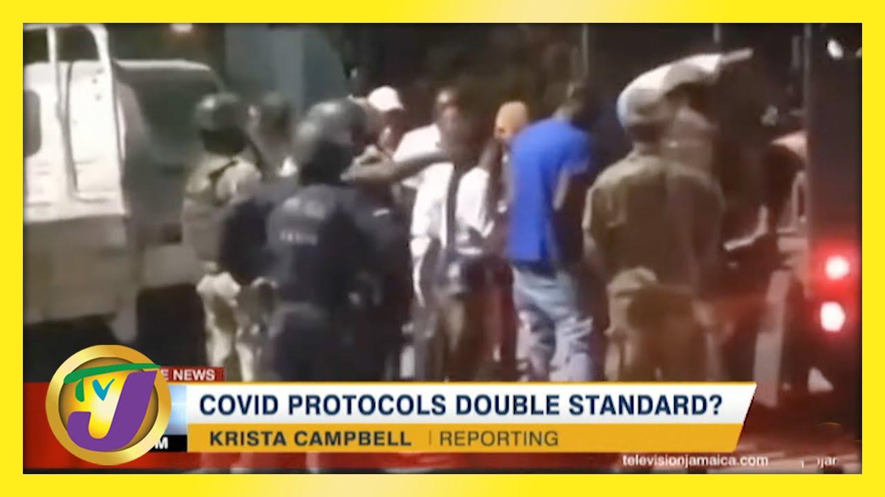 Covid Protocols Double Standard?   TVJ News - May 15 2021 1