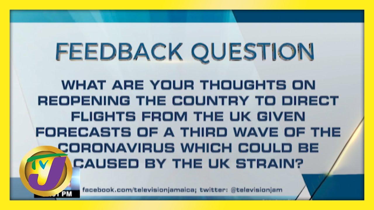 Feedback Question | TVJ News - April 30 2021 1