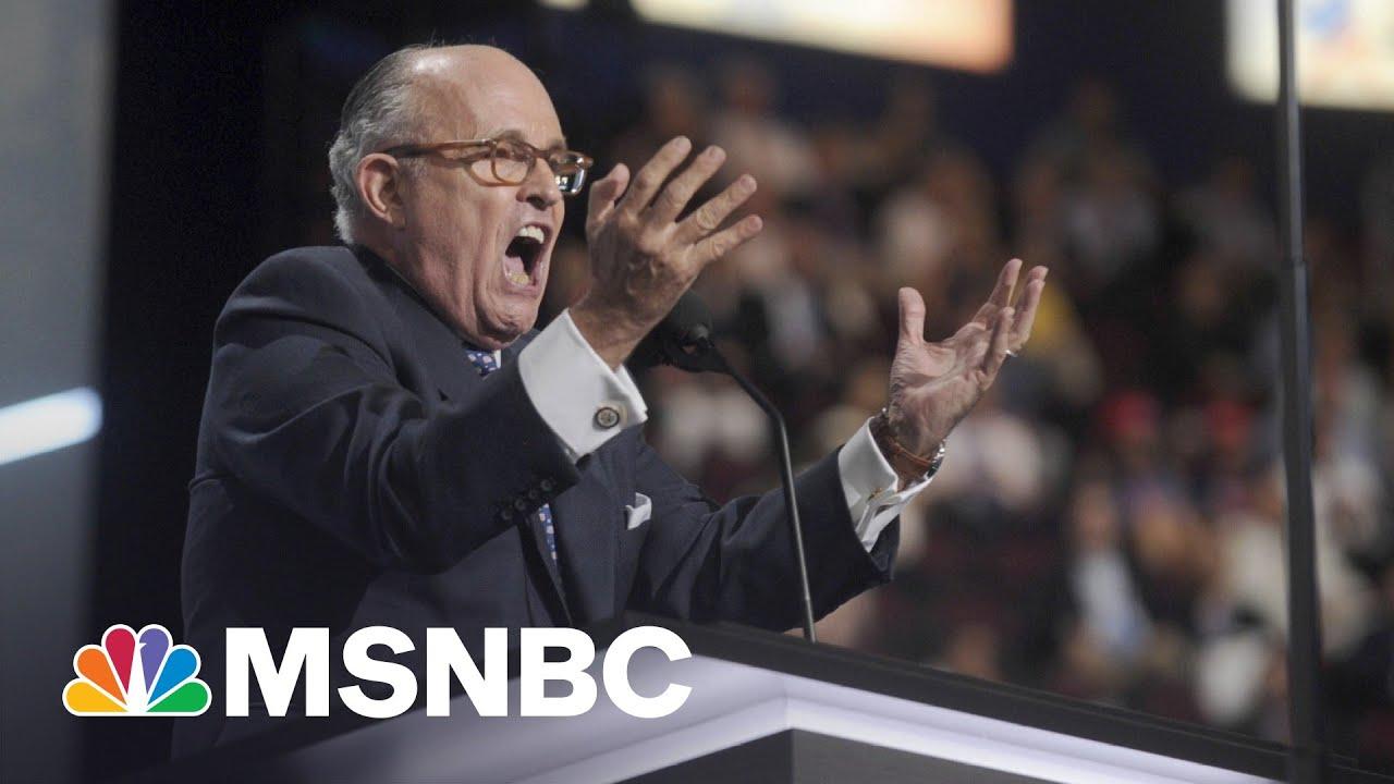 45 Problems? Giuliani Criminal Probe Expands As Trump Braces | MSNBC's The Beat 7