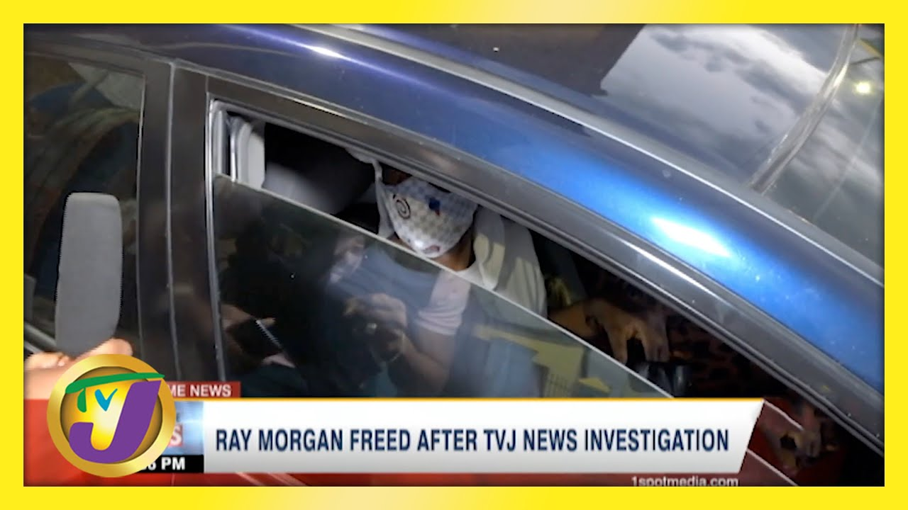 Jamaican Inmate Ray Morgan Freed After TVJ News Investigation   TVJ News - April 30 2021 1