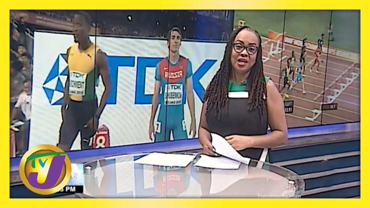 Jamaican Olympic Hurdler uses Pool to Prepare - April 30 2021 1