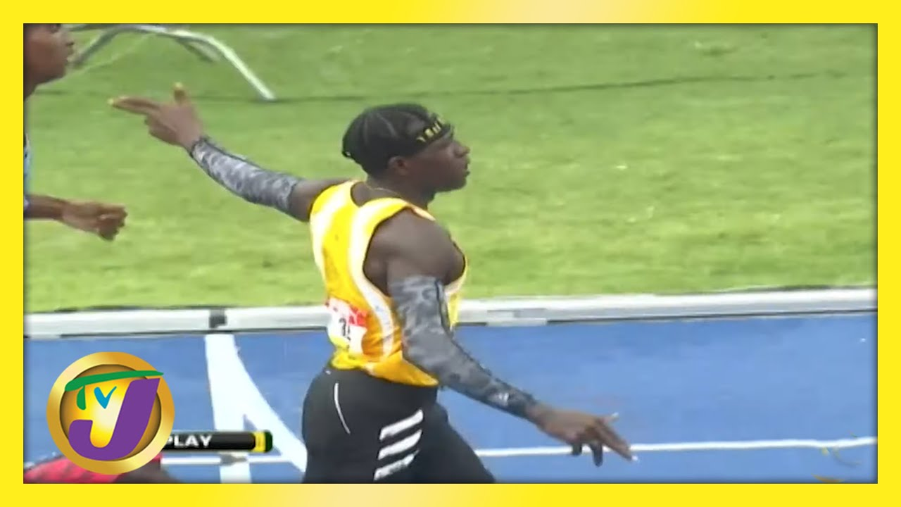 Antonio Watson - Gun Gesture at Champs 2021 | TVJ Sports Commentary - May 17 2021 1