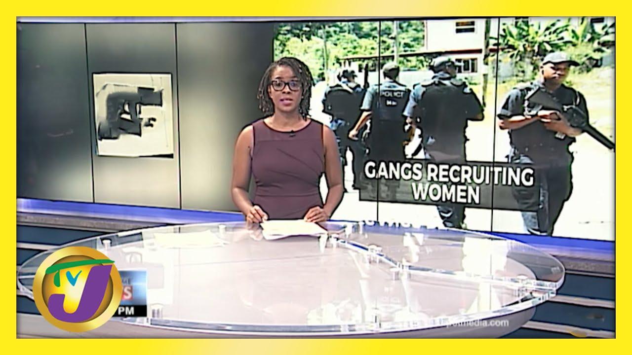 Jamaican Gangs Recruiting Women   Kings Valley Gang Members Charged   TVJ News - May 17 2021 1