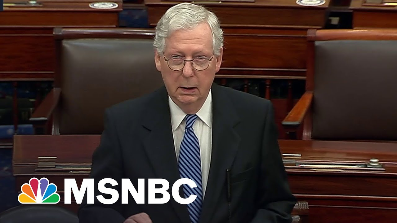 McConnell Says He Opposes 'Partisan' Jan. 6 Commission Bill | MSNBC 1