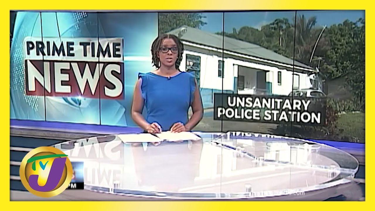 Rats & Termites Infestation at Police Station in Glengoffe in Jamaica | TVJ News - May 18 2021 1