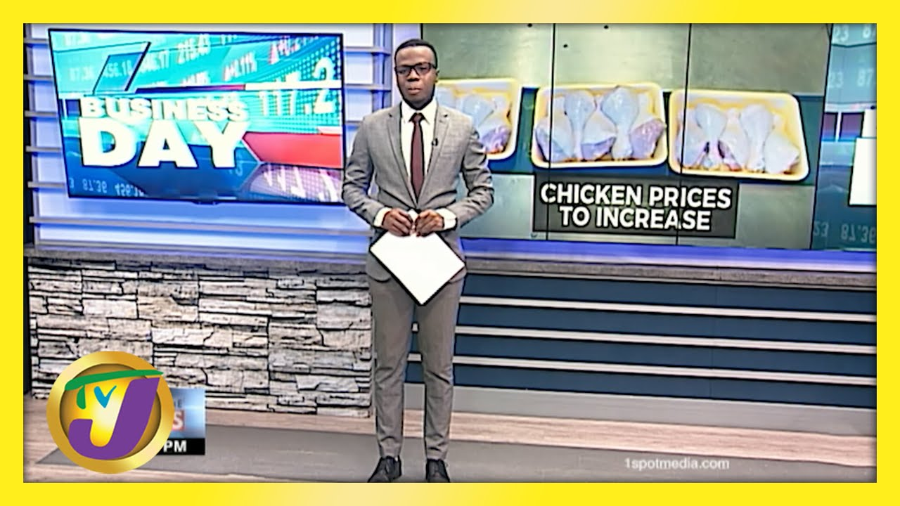 Jamaican Poultry Operators Warn of Higher Chicken Price   TVJ Business - May 18 2021 1