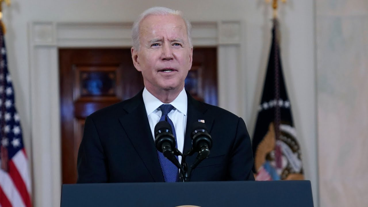U.S. President Joe Biden reacts to Israel-Hamas ceasefire | FULL speech 9