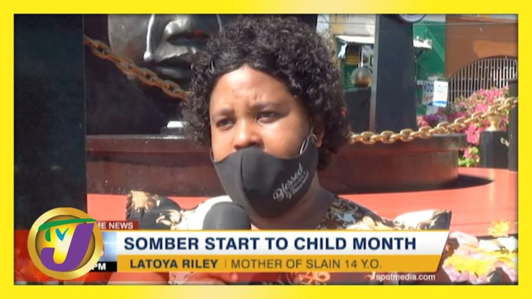 Somber Start to Child Month | TVJ News - May 2 2021 1