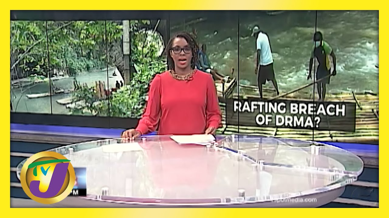 Concerns Over Alleged Covid Breach by Jamaica's Raft Captains   TVJ News - May 19 2021 1