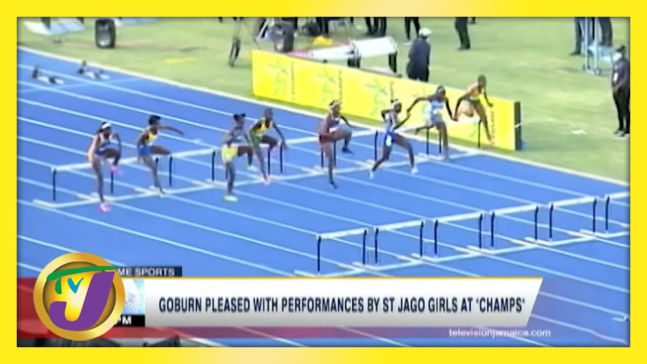 Coach Goburn Pleased with Performances by St. Jago Girls at Champs 2021 | TVJ News - May 19 2021 1