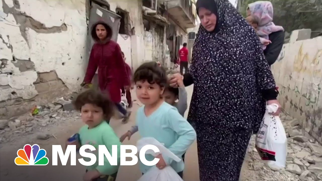 The Children Of Gaza Traumatized After Days of Conflict 1