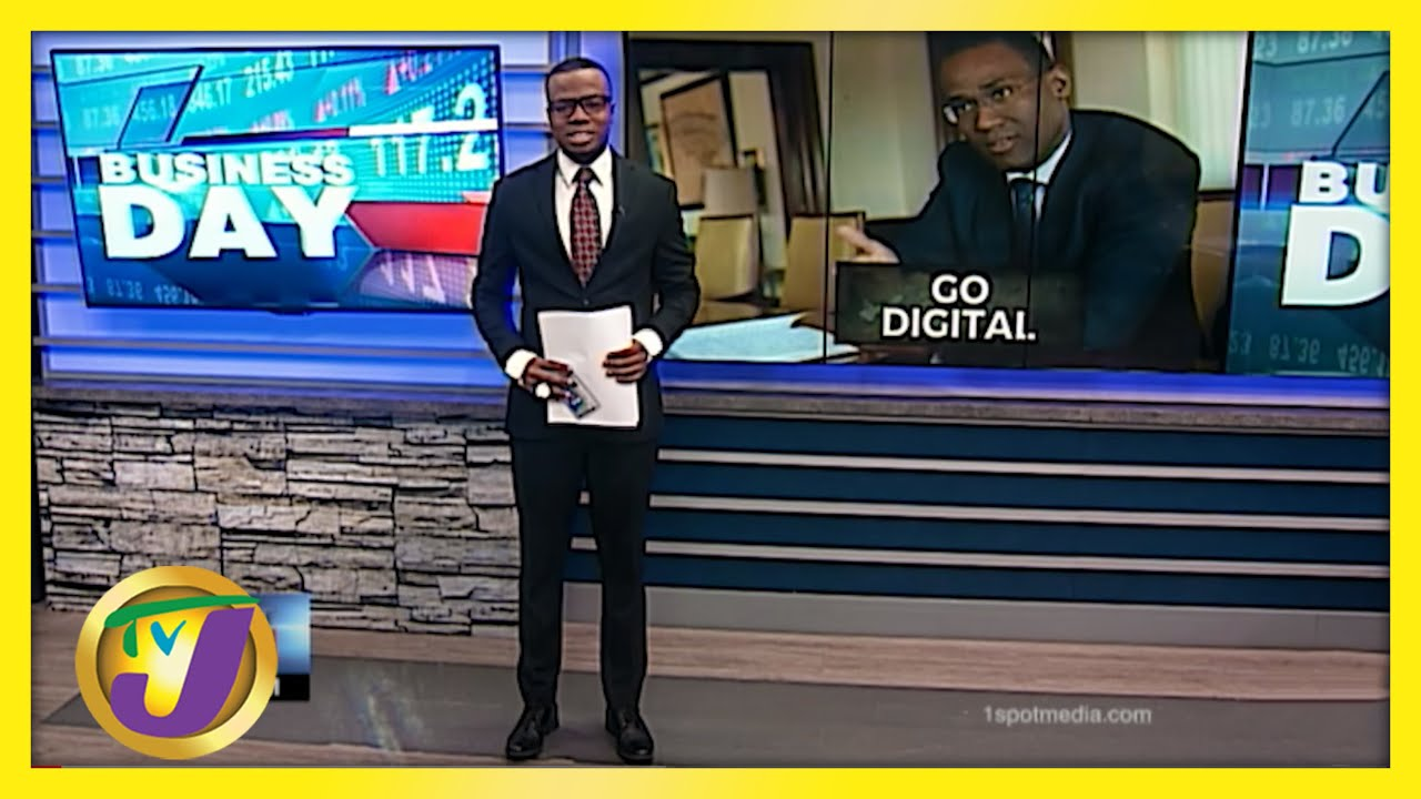 Jamaican Gov't Encouraging Companies to Go Digital | TVJ Business Day - May 20 2021 1