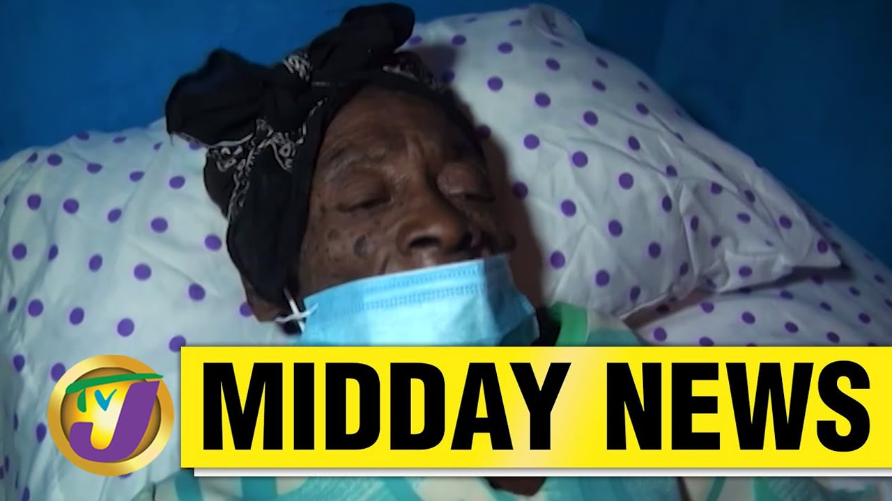 Road Repairs in St. Ann's Jamaica | Elderly Woman In Kingston Gets Assistance - May 21 2021 1