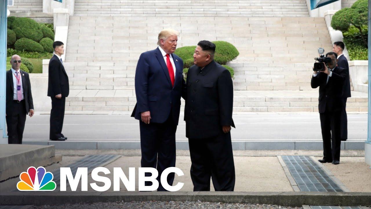 Biden Takes Swipe At Trump For Kim Jong Un Meetings | The 11th Hour 6