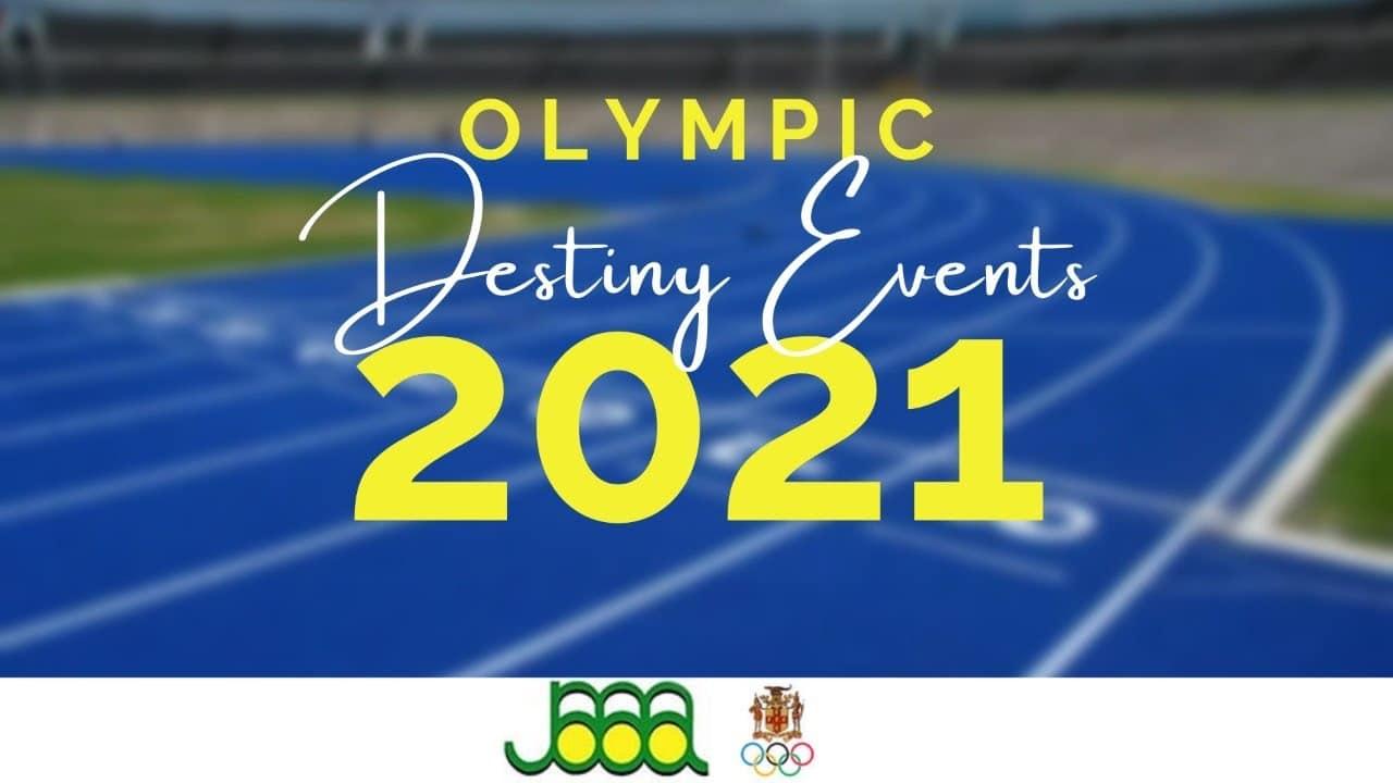 Olympics Destiny Events 2021 - JOA/JAAA 1