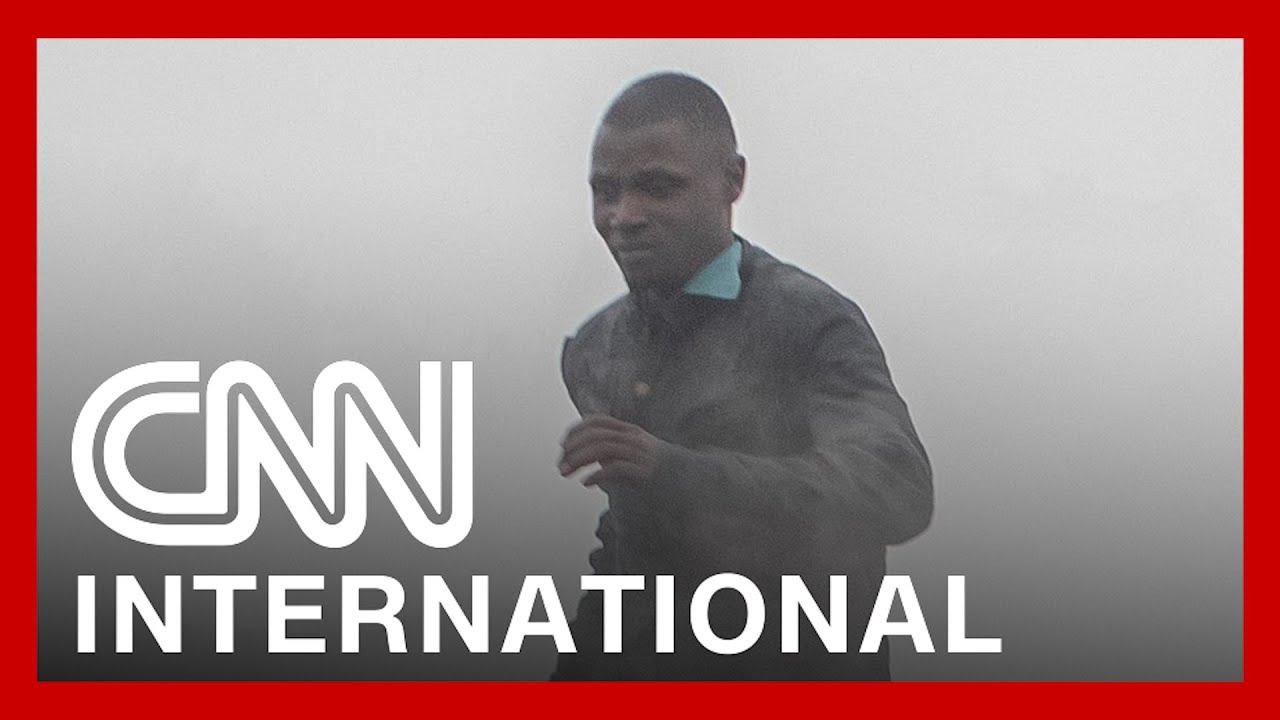 Footage shows lava flow after volcano erupts in Democratic Republic of Congo 1