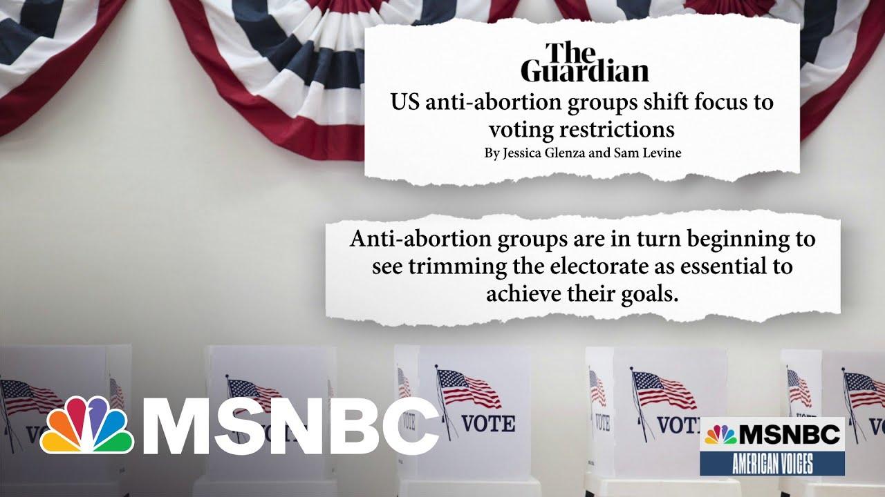 Anti-Abortion Movement Embraces Donald Trump's 'Big Lie' 1