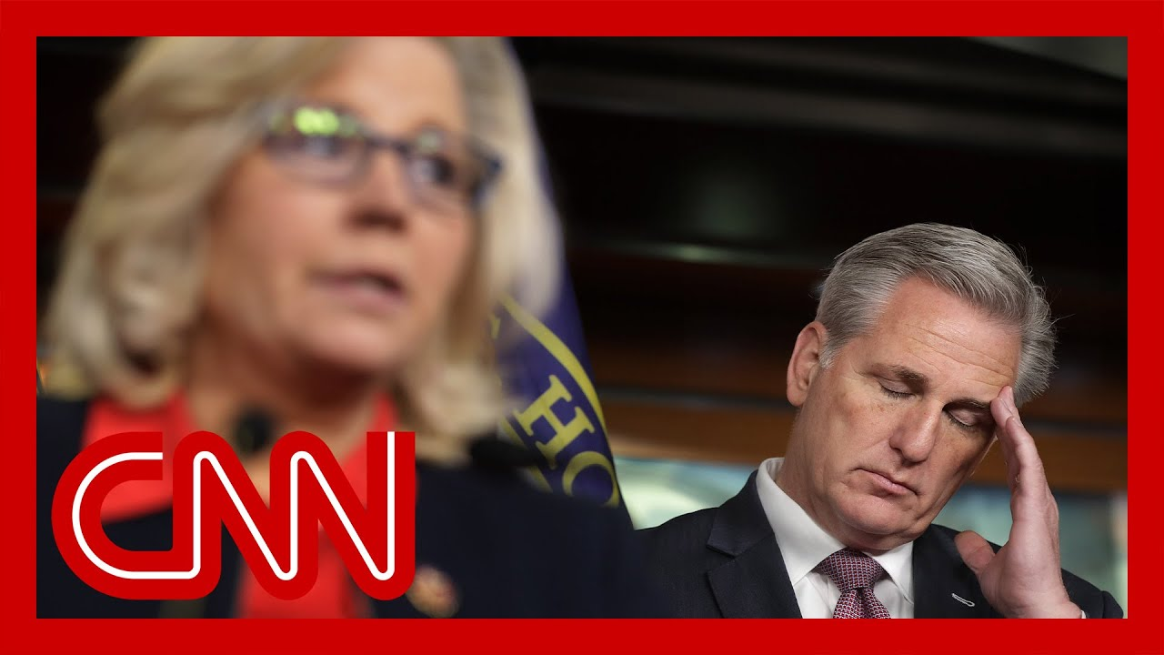 Hear what McCarthy said about Liz Cheney on hot mic 1