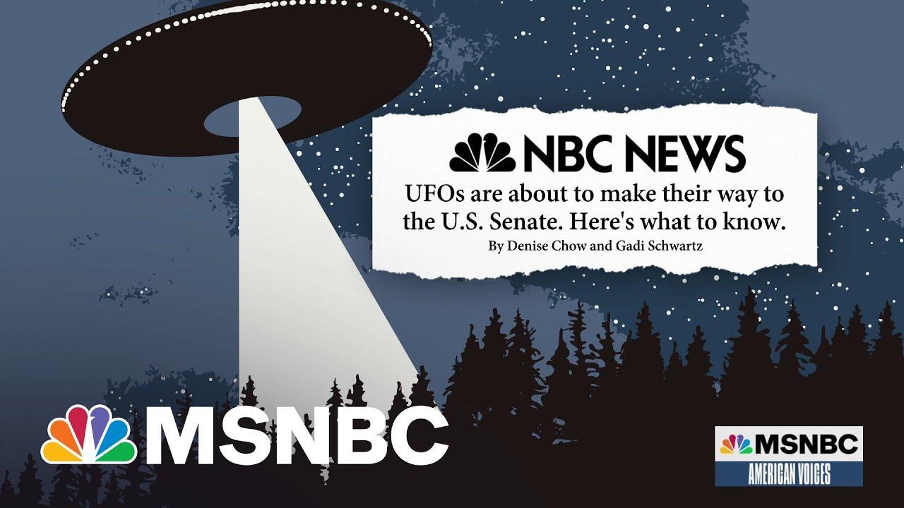 U.S. Intel Report On UFOs Headed To Congress | Alicia Menendez | MSNBC 1
