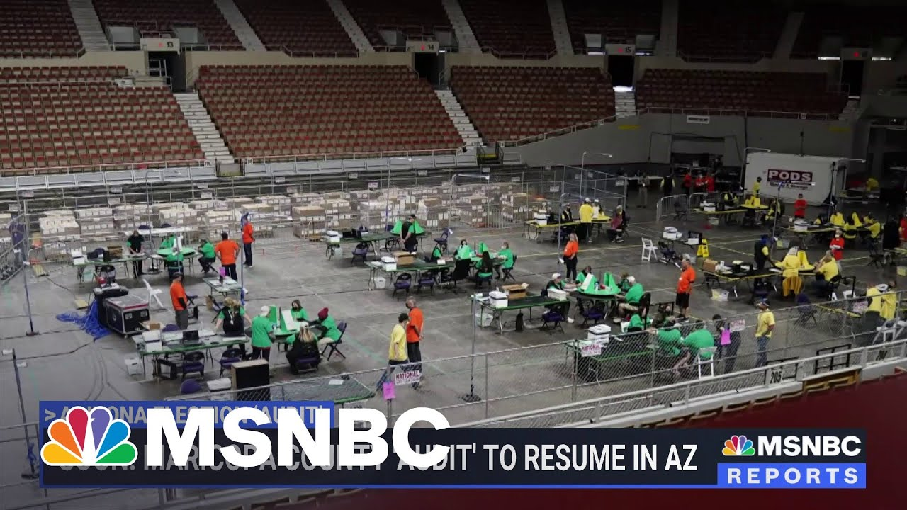 AZ Secretary of State: 'This Is Everything But An Audit'   MSNBC 4