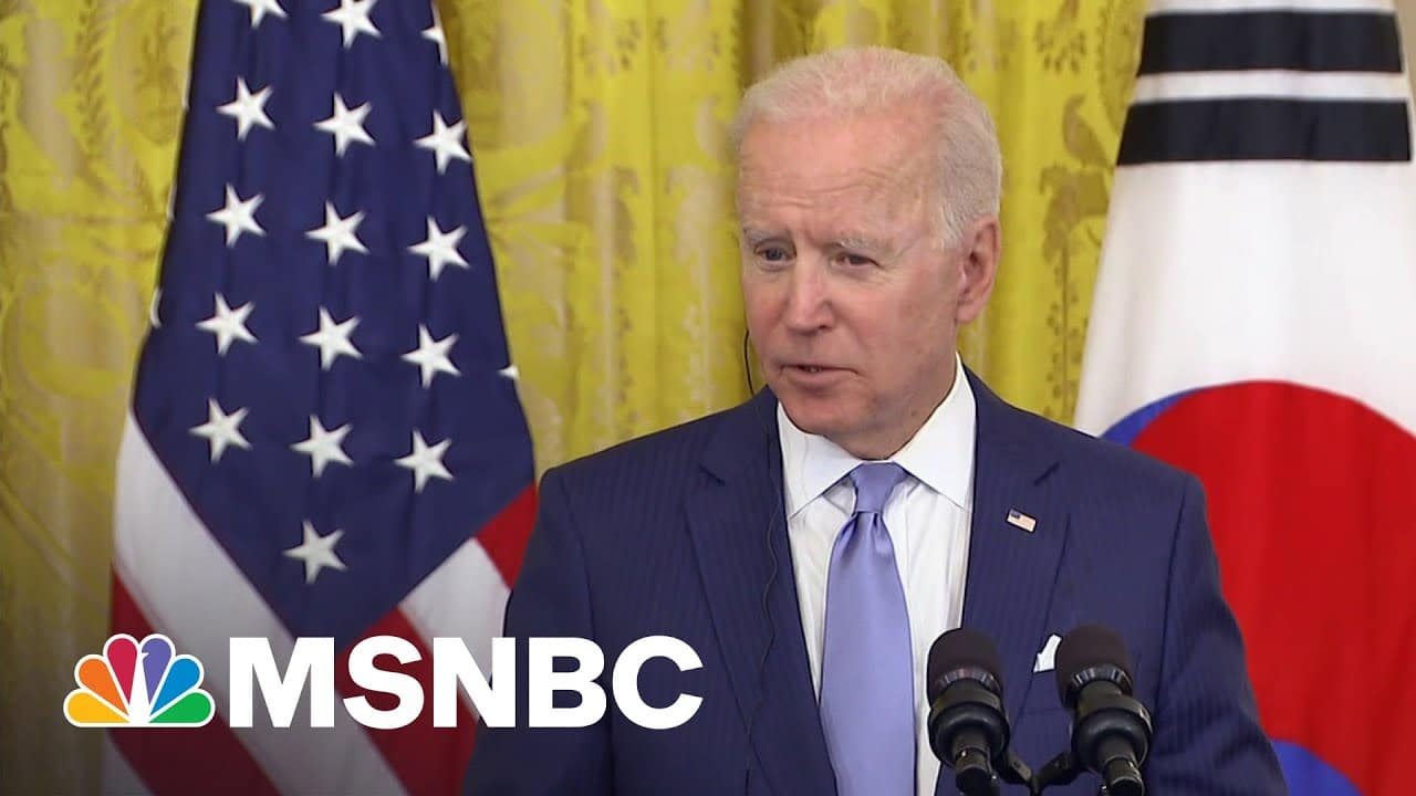 White House Negotiations On Infrastructure 'Extremely Stalled' | MSNBC 1