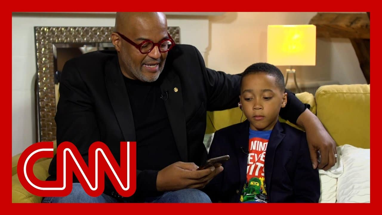 'He can be a little boy': Black father explains why he and son left the US 2