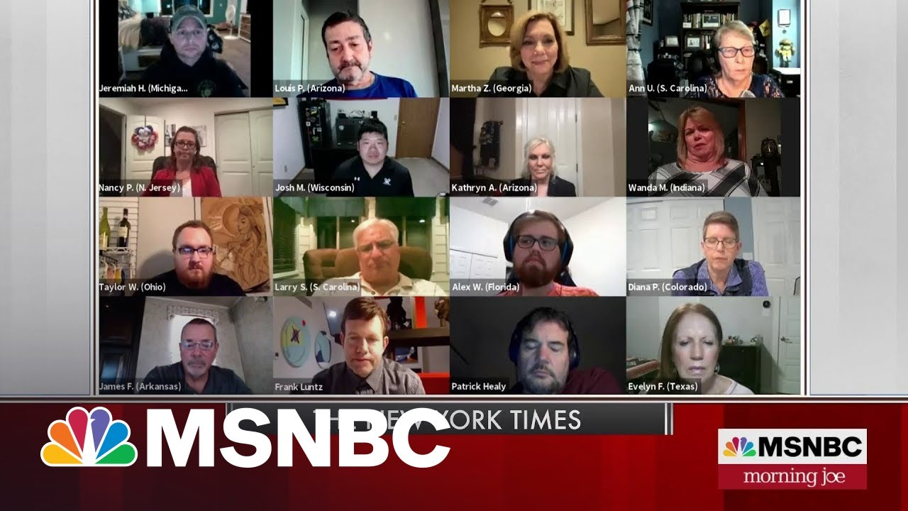 NYT Talks With Trump Voters On The Legacy Of George Floyd | MSNBC 8