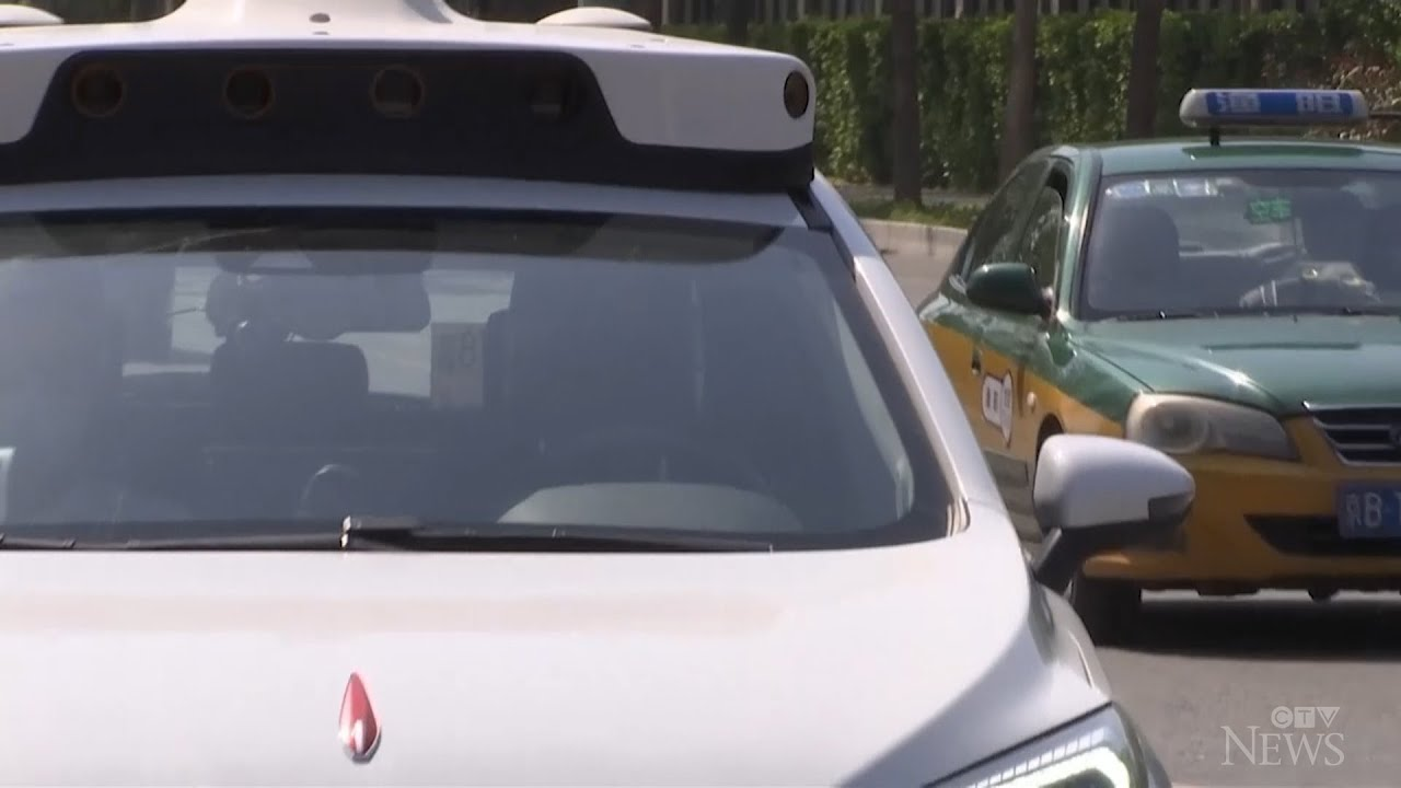Would you ride in this driverless taxi? 1