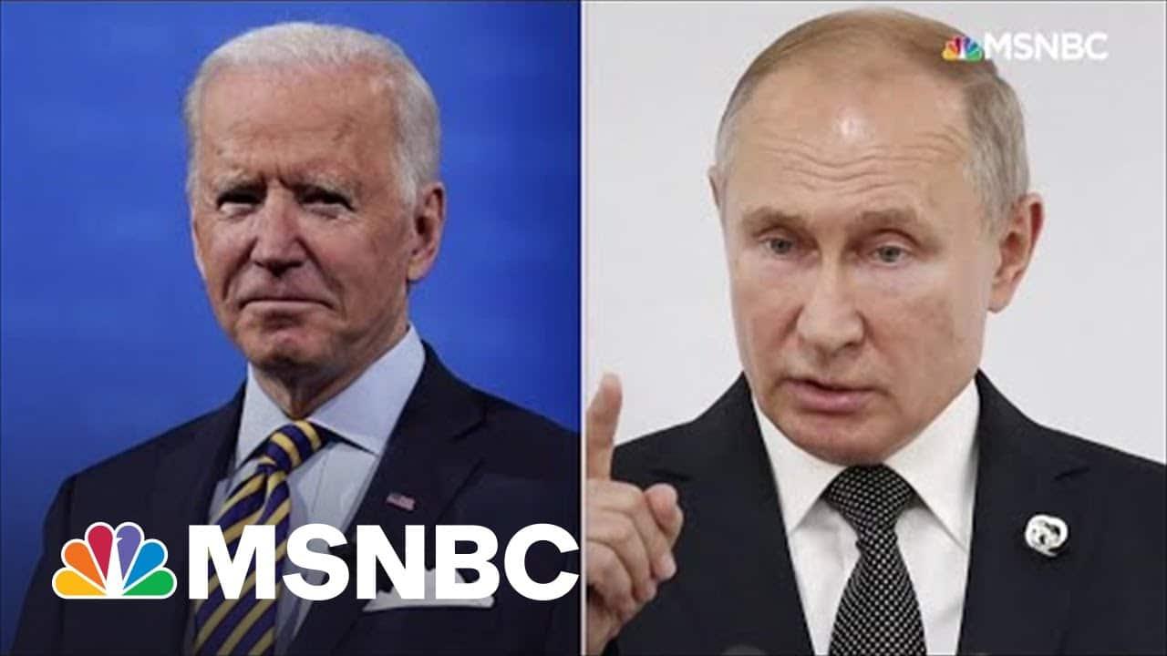 Biden To Meet Putin In Switzerland On June 16 | MSNBC 5