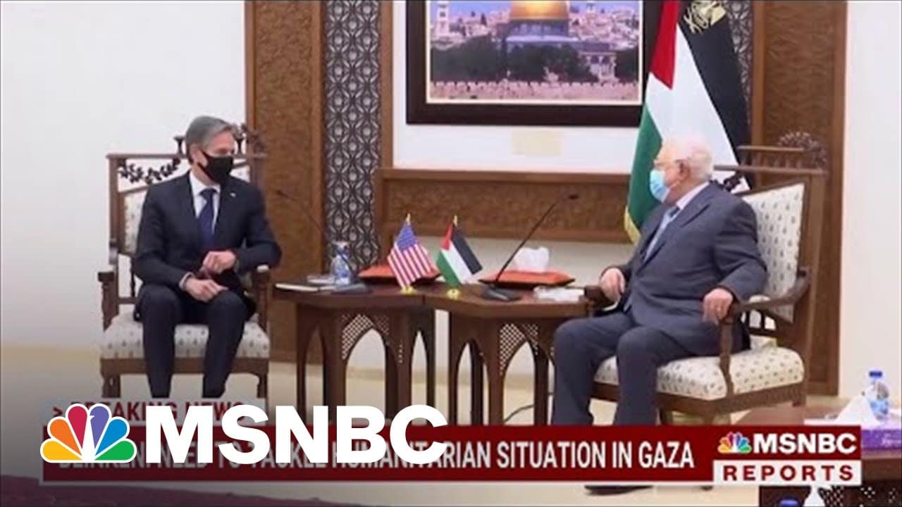 Secretary Blinken Meets With Netanyahu, Abbas After Cease-Fire | MSNBC 3