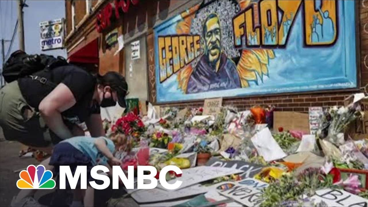 Shaquille Brewster Reflects On Covering George Floyd | MSNBC 4