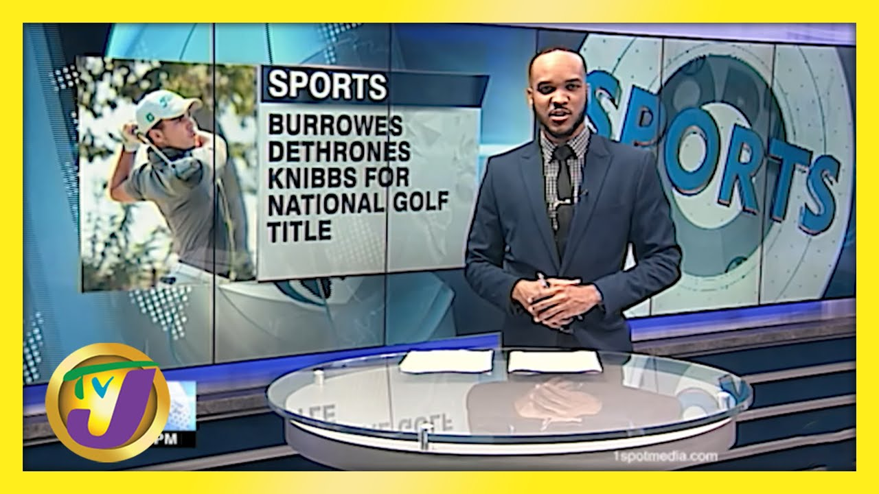 Burrowes Dethrones Knibbs for National Golf Title - May 24 2021 1