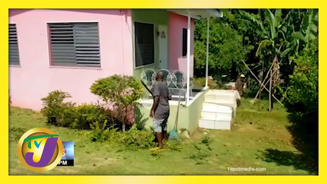 Jamaicans Labour at Home   TVJ News - May 24 2021 1