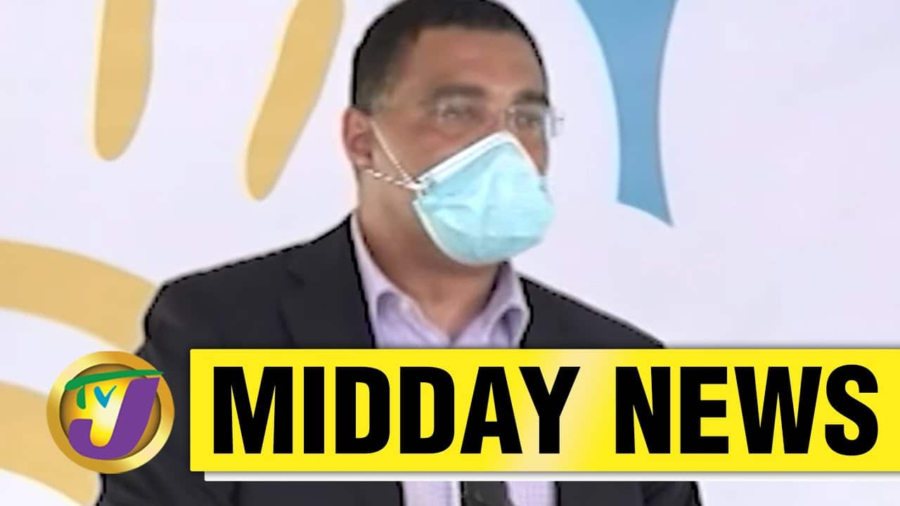Jamaican PM May Appoint Comm. To Oversee Mobay Project| TVJ News - May 25 2021 1
