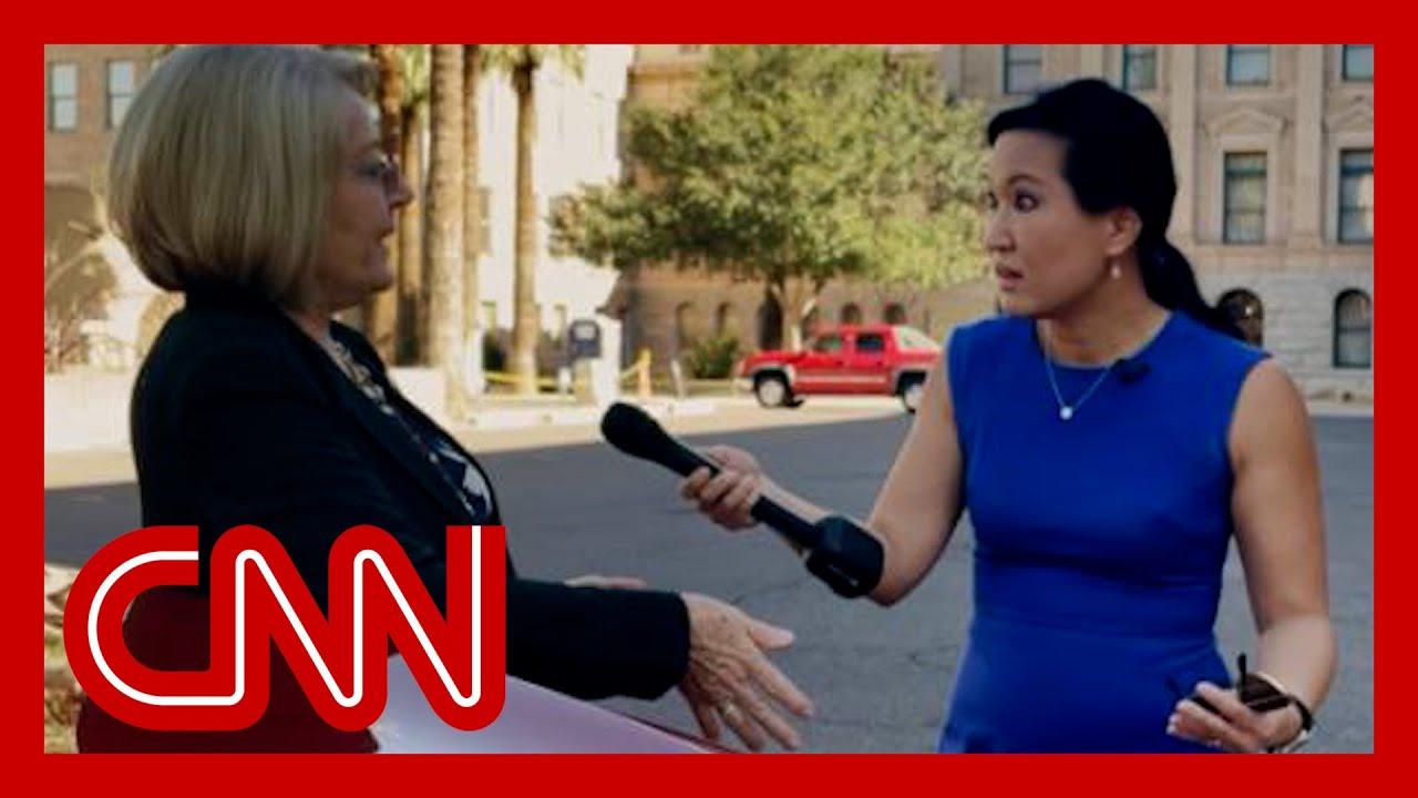 CNN confronts woman behind bogus Arizona election audit 9