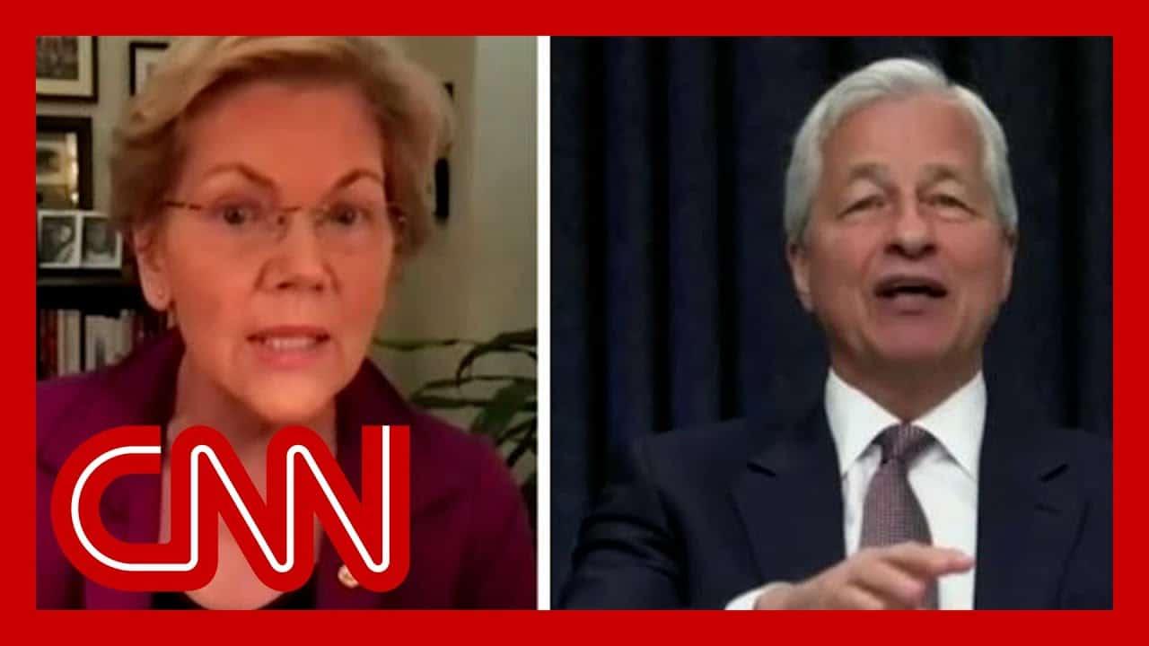 Elizabeth Warren confronts JPMorgan CEO during heated testimony 3